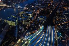 London Nightscape VI (Douguerreotype) Tags: london uk bridge dark british buildings cityscape architecture city britain night gb urban england