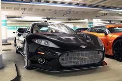 Spyker C8 Aileron (Instagram: R_Simmerman) Tags: spyker c8 aileron germany trier dealer occasion parking garage germancars supercars sportcars hypercars autumn 2016 november