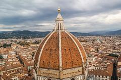 Brunelleschi's Dome (Jean-Paul Navarro) Tags: florence firenze italy italia europe tuscany cattedrale di santa maria del fiore cathedral giottos campanile