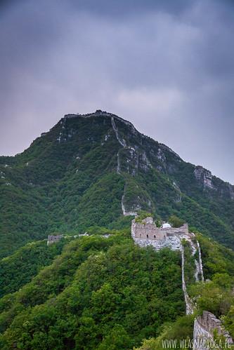 Nasz nocleg na Murze Chińskim