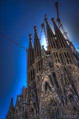La Sagrada Familia (JMFREDES) Tags: barcelona españa europa iglesia gaudi sagradafamilia