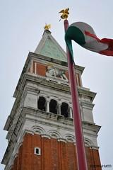 Piazza San Marco (veryg83) Tags: venice italy square italia flag campanile venezia piazzasanmarco bandiera leonedisanmarco