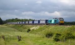 Photo of 68001 4D47 13:19 Inverness Freight Sidings - Mossend Up Yard; Bannockburn; 04-07-2015