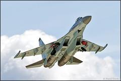 Sukhoi Su-35S (Pavel Vanka) Tags: plane airplane fighter russia outdoor aircraft jet vehicle takeoff sukhoi su27 flanker kubinka su35 russianairforce army2015 армия2015