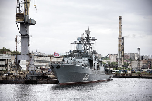 Russian destroyer Vice-Admiral Kulakov