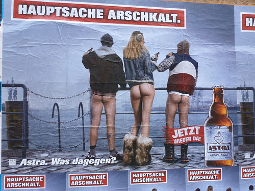 Publicité, Berlin, Allemagne