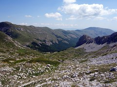 """Looking back down into Valle Cerchiata • <a style=""""font-size:0.8em;"""" href=""""http://www.flickr.com/photos/41849531@N04/19750877525/"""" target=""""_blank"""">View on Flickr</a>"""