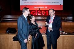 Hugh Morgan, Tania de Jong & Edward de Bono