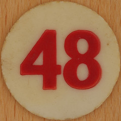 Bingo Number 48 (Leo Reynolds) Tags: xleol30x squaredcircle number numberbingo xsquarex bingo lotto loto houseyhousey housey housie housiehousie numberset 48 sqset120 40s canon eos 40d xx2015xx xxtensxx sqset