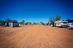 (dixoncamera.com) Tags: life camping camp horse canon eos bush desert hard dry australia wideangle toilet racing dirt drought queensland 5d outback races campground setting 1740mm toilets regional townsville norain mk3 2015 f4l rainless kooroorinya