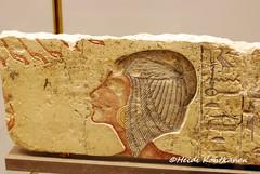 Meritaten (konde) Tags: art ancient princess relief limestone 18thdynasty meritaten amarna nycarlsbergglyptotek telelamarna