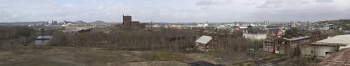 Panorama of Esch-sur-Alzette, 01.03.2015.