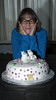 Sonia and her Moomin cake 01 (bob watt) Tags: cake moomins nottingham england uk december 2016 home puddingpantry canoneos7d 7d 18135mm sonia canon