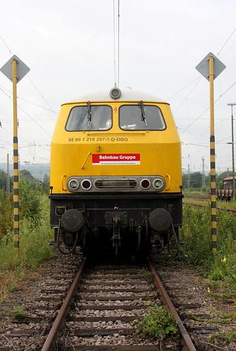 DBG 218 287-1 Trier-Ehrang Rbf