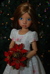 Merry Christmas everyone! (Little little mouse) Tags: tanlaryssa kayewiggs tansy bjd dollfie