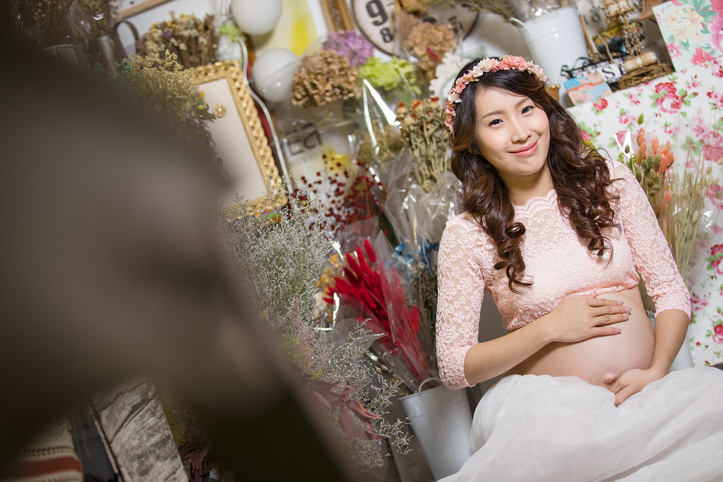 孕婦寫真,孕婦攝影,孕婦棚拍,婚攝卡樂,161217筱琪16