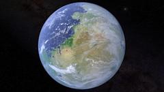 Terraformed Mars (Kevin M. Gill) Tags: mars computergraphics terraforming space