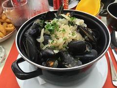 Mussels, Saint Jean de Luz!
