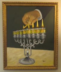 Chanukah Menorah (Yoseph Urso) Tags: jewish menorah candles light oil hanukah chanukah israel holiday
