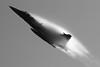 Vapor cloud (RafalZych) Tags: czech air force jas39 gripen saab czeskie siły powietrzne vapor cone cloud nikon d80 tele airshow show ostrava ostrawa nato days nikkor 70300 bw aircraft airforce fighter jet