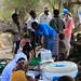 ECHO and UNICEF representatives on a visit at Lubakda Kebele of Kori Woreda in Afar Regional state.