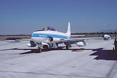 T-33A Shooting Star 51-8978 N157X of Flight Systems Inc. (JimLeslie33) Tags: t33 t33a 518978 lockheed shooting star flight systems nas moffett mojave california olympus om1