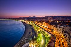 Nice (Chris Buhr) Tags: nizza nice france frankreich sonnenuntergang sunset sky blue landschaft landscape sommer summer city leica chris buhr
