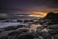 blowholegf (fazlullah100) Tags: sunset flinders landscape seascape longexposure outdoor rocks clouds sky blowhole