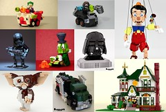 2016 Wrap Up (buggyirk) Tags: buggyirk lego moc review wrap up year end 2016 ideas afol star wars disney marvel dc wb warner brothers hot wheels brick figure brickbuilt house home truck mighty micro creator modular minifigure minifig classic retro new school bros