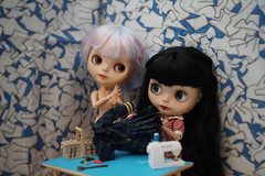 Blythe a Day 02 February 2017 - Plaid