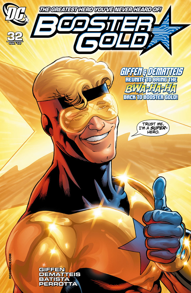 Booster Gold (2007) #32