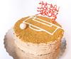 Three-Layer Banana Cake with Dulce de Leche Buttercream, Pistachios and White Chocolate (Renée S. Suen) Tags: fromrenéeskitchen bakedgoods sweet dessert gettogethers cake banana dulcedeleche buttercream pistachio strawberry candy chocolate whitechocolate soccer