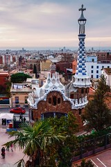 Gaudi Architecture (withcamera) Tags: 스페인 바르셀로나 구엘공원 가우디건축물 spain españa barcelona guellpark gaudiarchitecture
