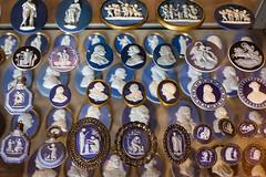 Portrait Medallions on Blue Jasper (Daveography.ca) Tags: vamuseum portraitmedallion england old vanda jasperware victoriaalbert victoriaandalbert victoriaandalbertmuseum victoriaalbertmuseum figures jasper historical va london whiteandblue museum bluejasper medallions unitedkingdom medallion portraitmedallions gb uk blueandwhite