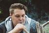 20161001-DSC02448 (Auré Pereira) Tags: portrait smoke people sony a6000 helios 442 58mm 20 khan music metal nancy flatcurve