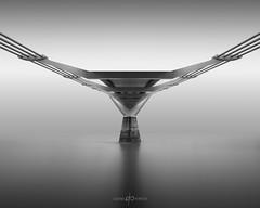 T#Tau (Dan Portch) Tags: london millennium bridge fine art mono monochrome bw architecture long exposure le