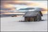 alone and deserted (Der Zeit die Augenblicke stehlen) Tags: bäume deutschland eos700d eis feld hth56 haus landscape landschaft scheune schnee thomashesse thüringen winter