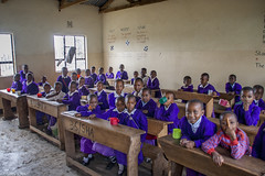 3rd Grade (allentimothy1947) Tags: africa foreign places tanzania travel school arusha students children education classroom