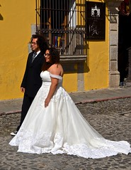 """Overseas Adventure Tours"", ""Route of the Mayas"", Antigua, Guatemala, El Arco, the Arch, bride, (David McSpadden) Tags: overseas adventure tours route mayas antigua bride elarco groom guatemala thearch"