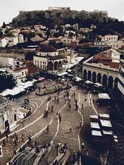 A for Athens (dimakk) Tags: travel view daylight urban monastiraki athina atina atenas griechenland grecia athens greece abbotk20 gjegje hipstamatic