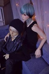 Friends (Yuki'sWorld) Tags: bjd bjdoll balljoineddoll bjds muñeca muñeco dolls crobidoll crobi crobidollnia nia iplehouse asa sd sdr17