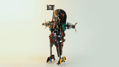 Pirate Slave-1 Starfighter (Joe Gan) Tags: lego 70605 misfortunes keep ninjago moc mocs rebuild redesign pirate punk slave1 slave 1 ship starfighter star wars