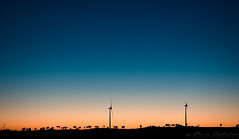Wind power (Paco CT) Tags: aerogenerador atardecer sunset crepuscule crepusculo dusk ocaso puestadesol sundown twilight windmill guarda portugal prt electricity power green outdoor mountainrage pacoct 2017