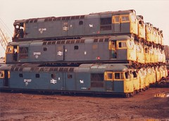 The Stack (ee20213) Tags: scrapyard class27 27037 27053 27049 27109 27105 brblue vicberry d5388 d5397 d5389 braunstongate