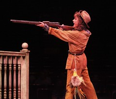 Beth Malone in Annie Get Your Gun at Music Circus August 9-14. Photo by Charr Crail.