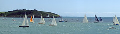 Spread Out The Fal Estuary Cornwall (Cornishcarolin. Just moved house!! BUSY!!! xxxxxx) Tags: water boats cornwall racing yachts falmouth azoresrace2015 theriverfalestuary
