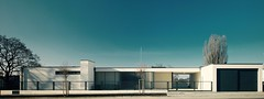 Modernist masterpiece (Street view) (iBSSR who loves comments on his images) Tags: street panorama history film museum architecture modern design view famous modernism haus architect villa hdr bungalow masterpiece modernist explored