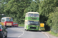 Photo of History on wheels: Chepstow Classic Buses VDV122S and Centurion Travel KPC211P