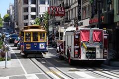 MUNI Cable Car 16 in San Francisco, Powell St DDC_4075 (foto_DM) Tags: sf trolley tram muni cablecar powell streetcar sanfranciso strassenbahn sfmta