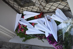 Paperplanes MH17 (alyona_fedotova) Tags: dutch russia moscow year  paperplane     mh17    paperboeing